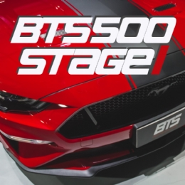 Pacote BTS 500 ( Stage1 ) para o Ford Mustang GT 5.0 2018 / 2019 / 2020