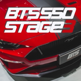 Pacote BTS 550 ( Stage3 ) para o Ford Mustang GT 5.0 2018 / 2019 / 2020