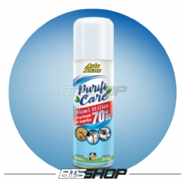 Álcool Spray 70 Purifi Care 300ml AutoShine - 1un